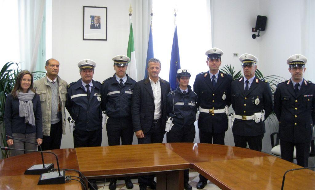 armamento polizia municipale Porto Recanati (2)