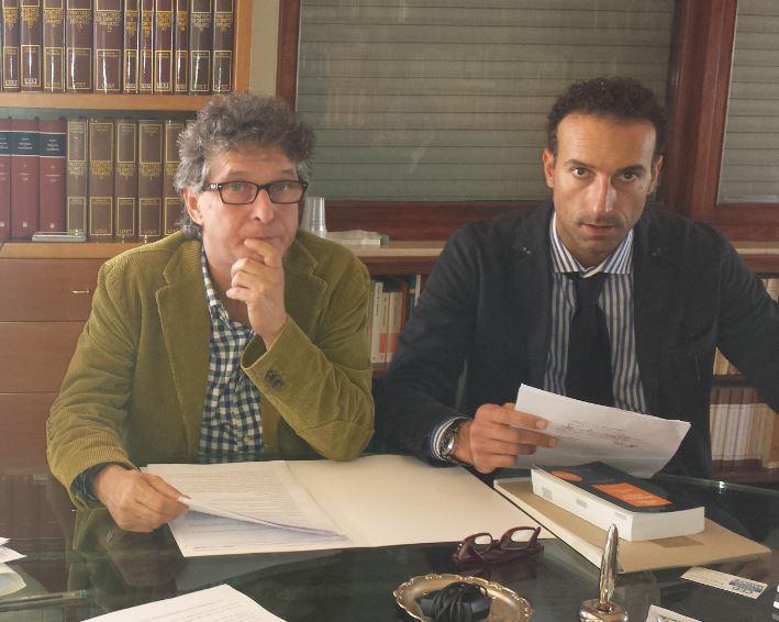 Gli avvocati Federico Valori e Oberdan Pantana