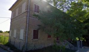 L'immobile di proprietà comunale in contrada Piane Chienti