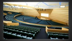 Il progetto dell'Auditorium di Algeri, recente commessa di Poltrona Frau