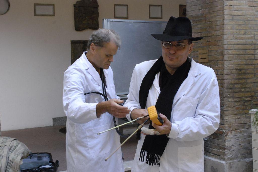 Massimo Merendi e Ivo Ragazzini al Comune di Macerata