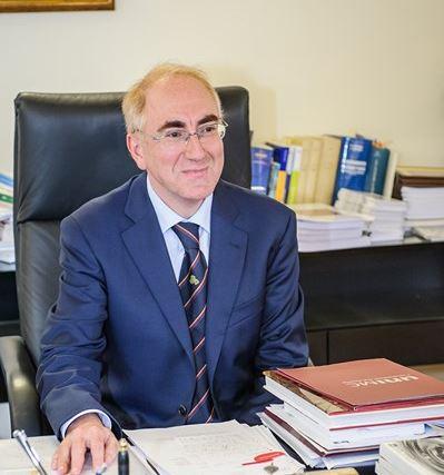 Il rettore dell'Università di Macerata, Luigi Lacchè