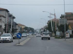 Il passaggio a livello di via Carducci a Civitanova