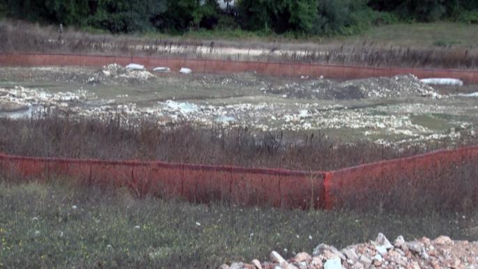 Gli scavi archeologici a ridosso del futuro svincolo di Muccia sud