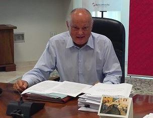 Rainer Stefano Masera, presidente dimissionario di Banca Marche