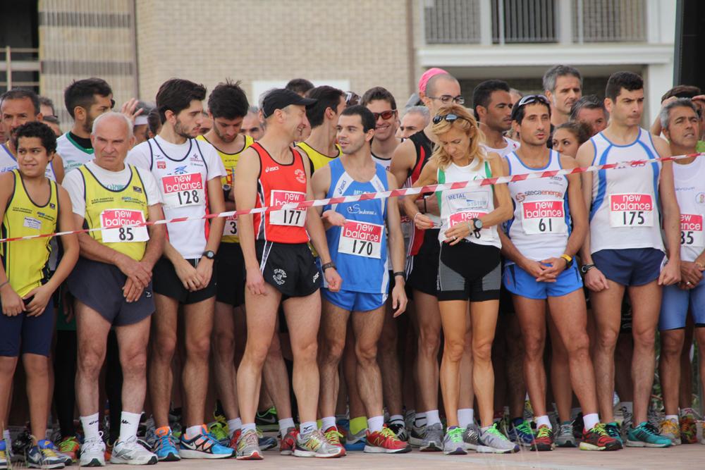 1A - La partenza della gara corri a PIEDI...RIPA