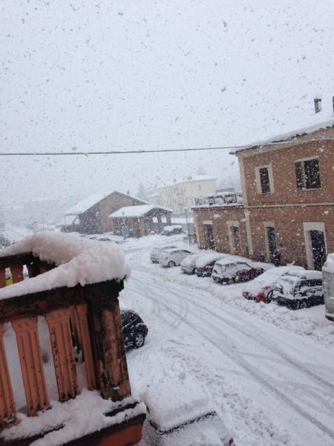 Castelraimondo neve novembre 2013 Riccardo Cicconi   (2)
