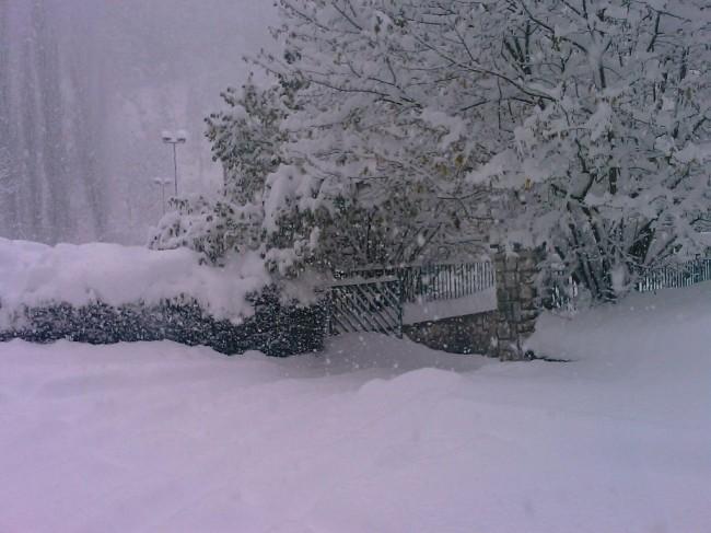 Castelsant'angelo sul nera neve novembre 2013 meteomont