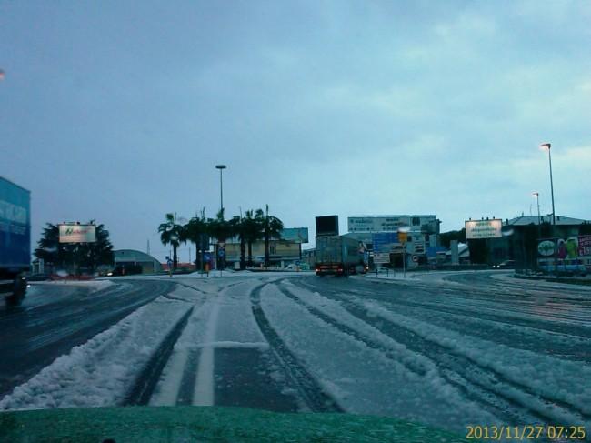Civitanova neve novembre 2013 Meteomont