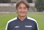 L'allenatore del Tolentino Aldo Clementi