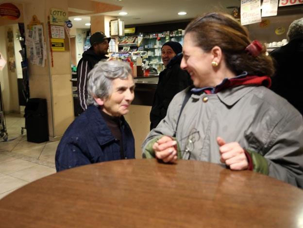 Eliana Brachetti e la mamma Serafina Pievebovigliana maltempo