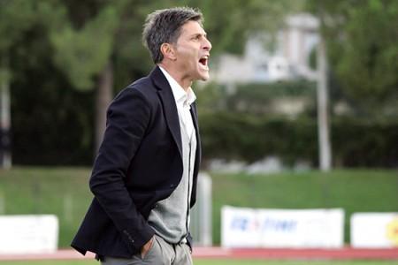 L'allenatore della Maceratese Favo