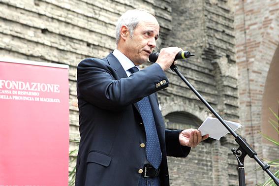 Franco Gazzani, presidente di Fondazione Carima