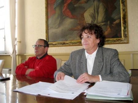 CHI ESCE - Doriana Mengarelli, ex assessore al bilancio, la sua delega è stata affidata al vicesindaco Giulio Silenzi