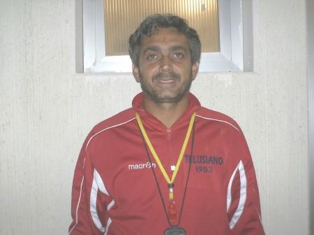 Paolo Paoloni, allenatore del Telusiano