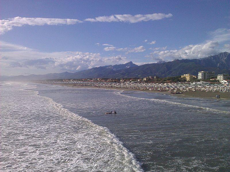 Le spiagge della Versilia