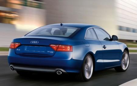 L'Audi A5 coupè 3.0 Tdi. Velocità di punta 250 km/h