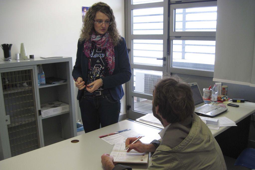 La giovane ricercatrice del dipartimento di Matematica, Simonetta Boria