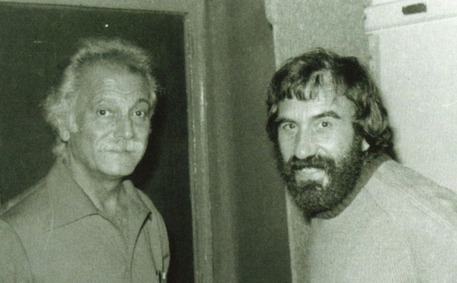 Beppe Chierici con Georges Bresson