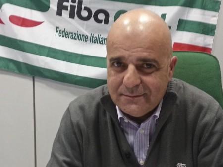 Il segretario regionale della Fiba-Cisl, Giovanni Gianuario