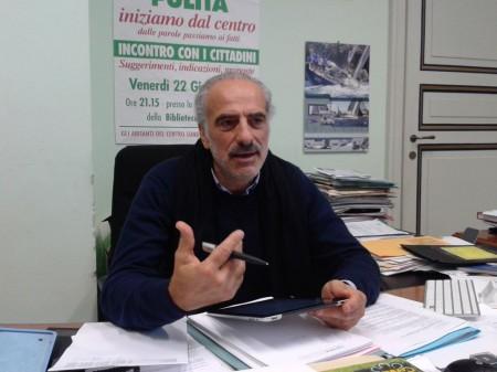 L'assessore all'ambiente Giulio Silenzi