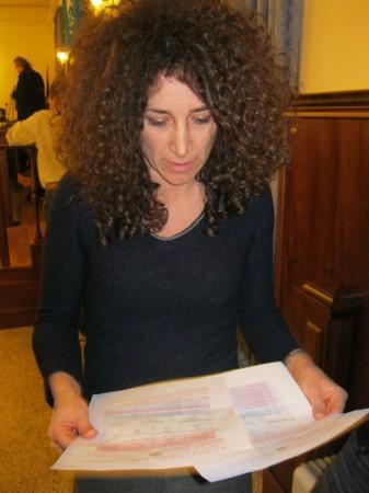 La consigliera del M5s Mirella Emiliozzi
