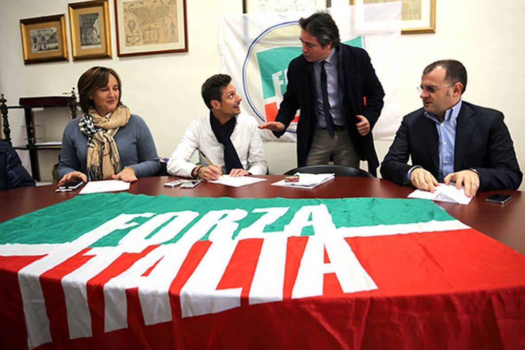 Da sinistra: Deborah Pantana, Francesco Luciani, Fabio Pistarelli, Riccardo Sacchi