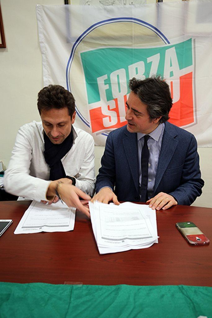 Francesco Luciani e Fabio Pistarelli
