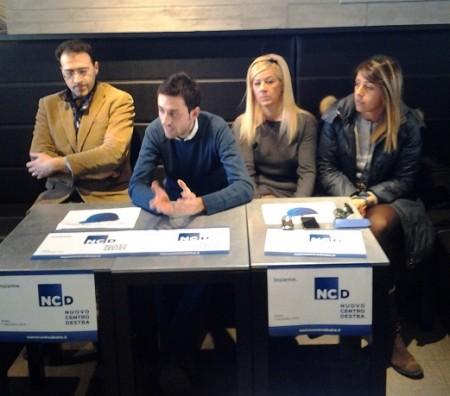 Da sinistra: Joseph Fogante, Alessandro Massi, Giuliana Salvucci, Silvia Luconi