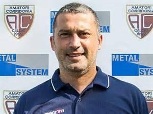 L'allenatore degli Amatori Corridonia Giulio Gagliardi