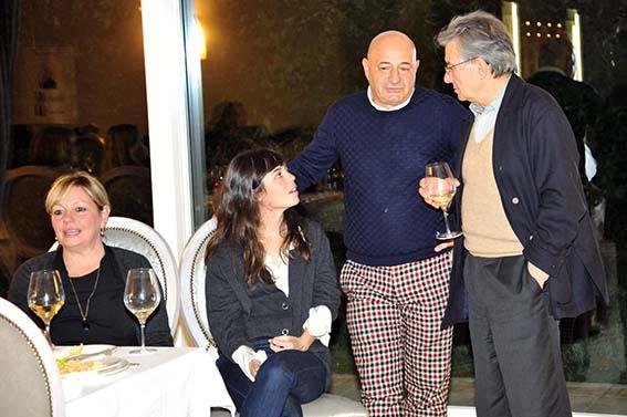 Adriano Sofri con Guido Picchio e Neige De Benedetti