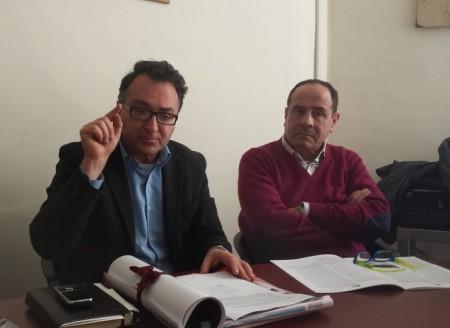 I consiglieri Bianchini e Borgiani