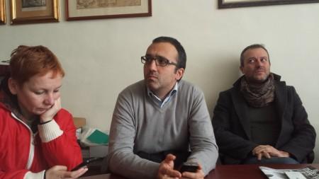 Da sinistra: Gabriella Ciarlantini, Antonio Carlini e Pierpaolo Tartabini