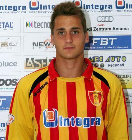 Il giovane attaccante della Recanatese, Federico Palmieri