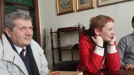 Giuliano Meschini e Gabriella Ciarlantini