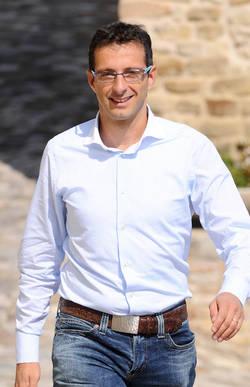 Il presidente della Provincia di Pesaro, Matteo Ricci