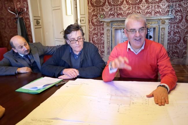 Il sindaco Carancini illustra il progetto approvato oggi dalla Giunta