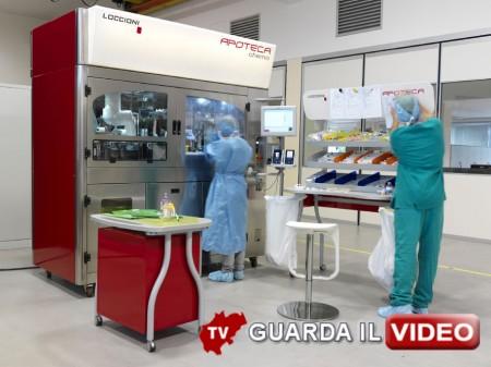 034-Sistema automatizzato per la preparazione di chemioterapici APOTECA chemo-low 0