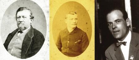 Carlo Balelli senior, Alfonso Balelli e Carlo Balelli Junior