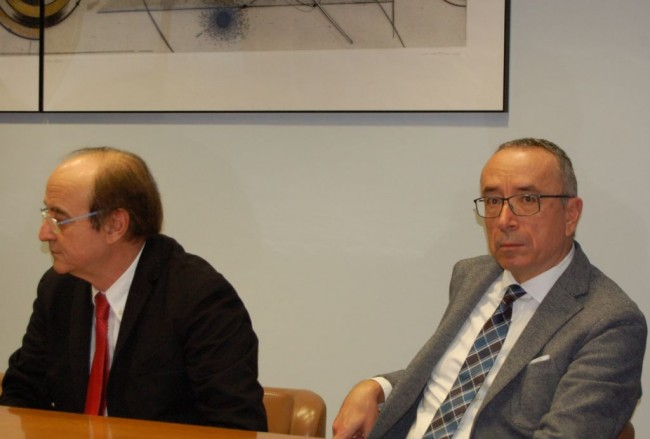 Piero Ciccarelli e Gianni Genga