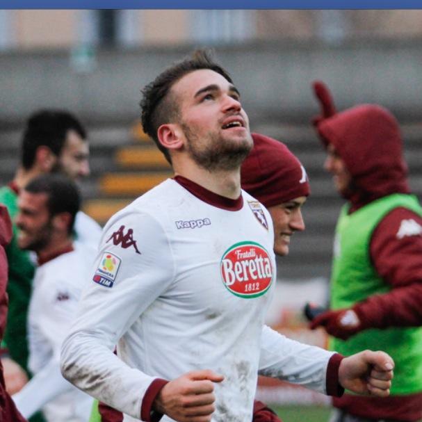 Il neo attaccante della Maceratese Claudio Sparacello