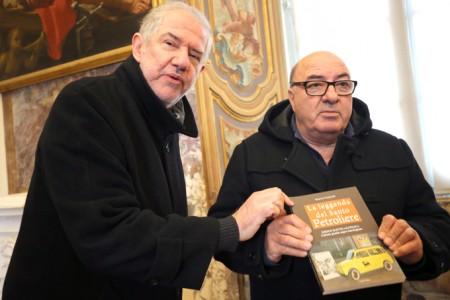 Maurizio Verdenelli con Dante Ferretti