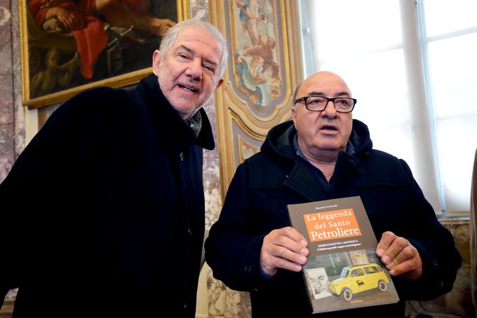 Dante Ferretti con Maurizio Verdenelli