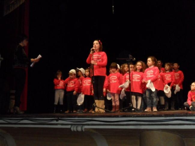 Un concerto del coro Grilli&Cicale