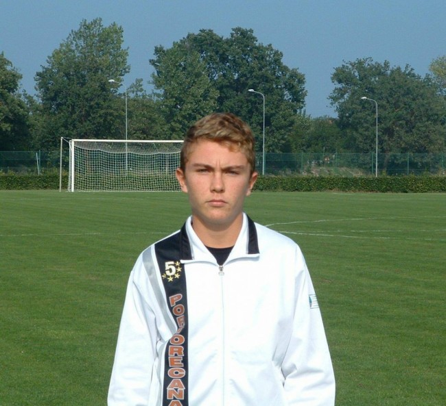 Francesco Filippetti, 16 anni, si è messo in mostra anche nella gara di oggi a Grottammare