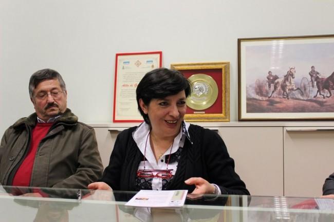 Gustavo Postacchini (membro della VI Commissione) e Mirella Franco (presidente)