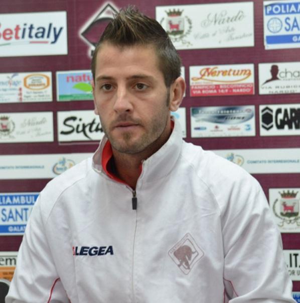 Il centrocampista Giordano Mauro