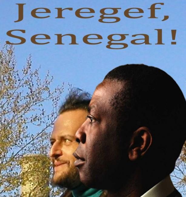 Filippo Davoli e Youssou N'Dour (fotoritocco)