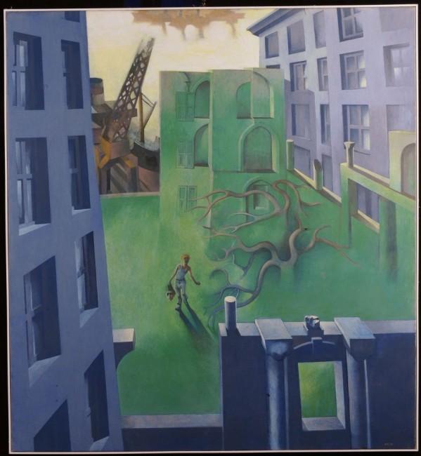 Perseo-1983-olio-su-tela-120x110-www.cambiaste.com_-599x650