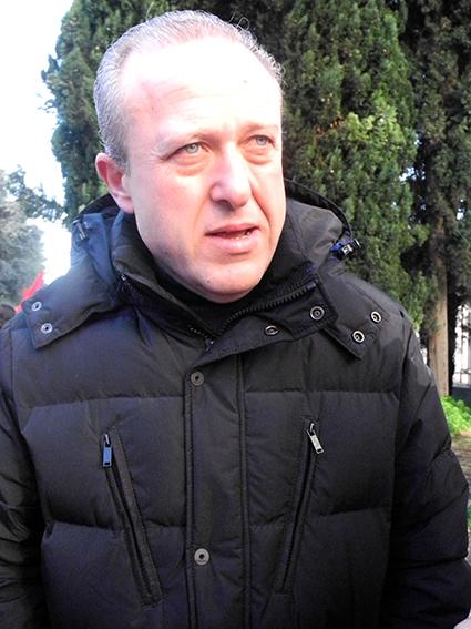 Massimo De Luca (Fillea Cgil)